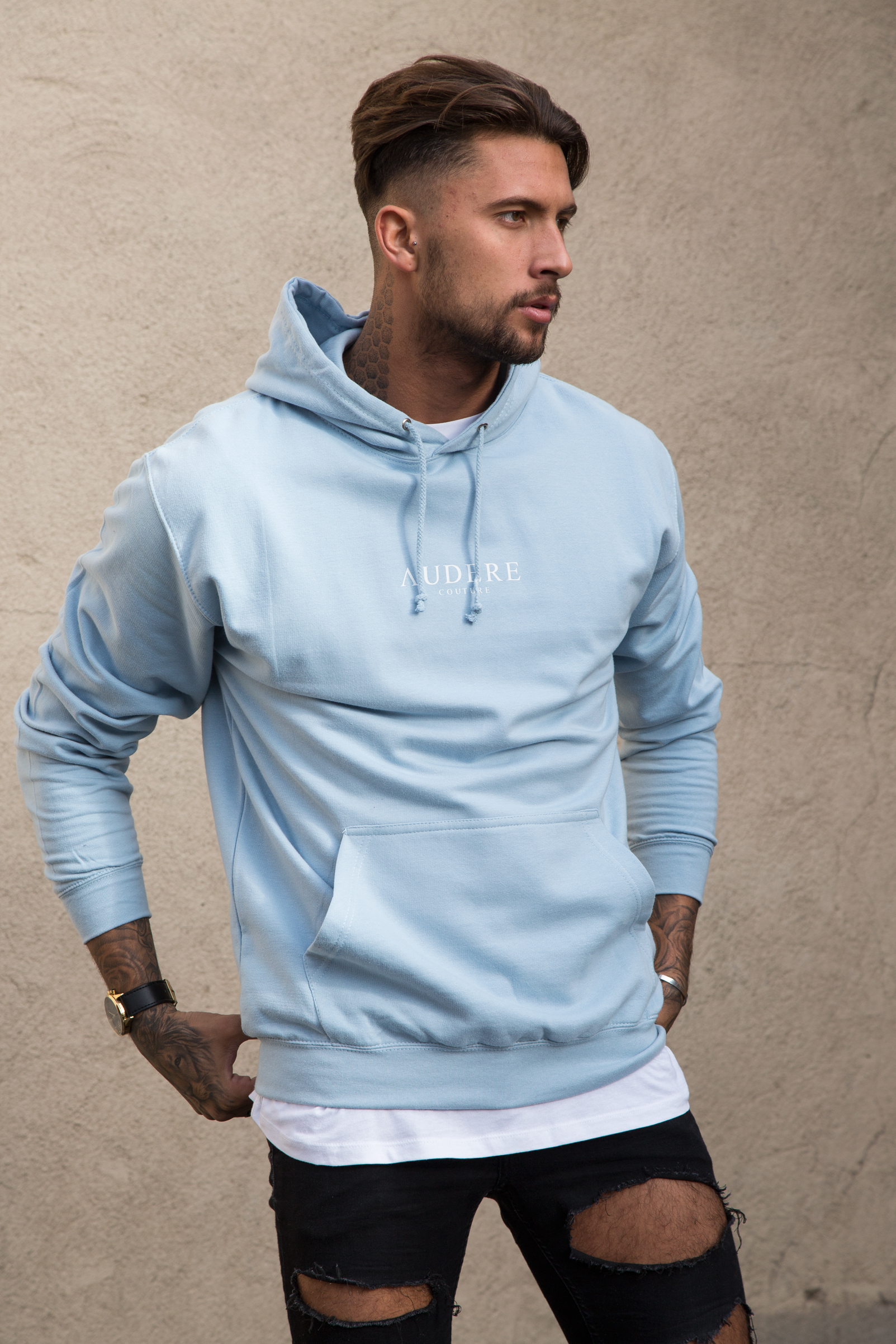 Buy casual sweatshirt + bubble skirt in light blue for $ from 24software.ml